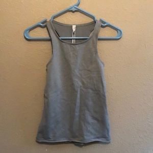 Free People movement workout top